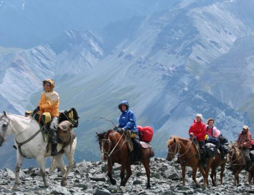 Тур (6-7 дней): на конях из Куруша к горячим источникам